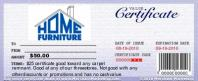 Home Furniture & Flooring $25 Certificate for $4